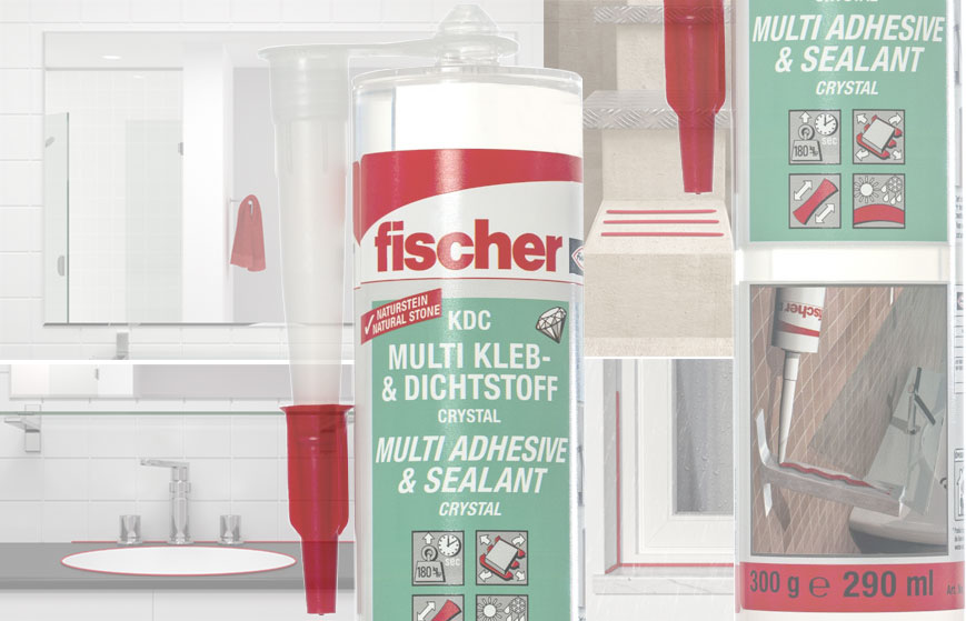 fischer KDC crystal transparent